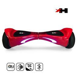 HX - 2-Wheel Self-Balancing Scooter - LED Headlight - Blueto