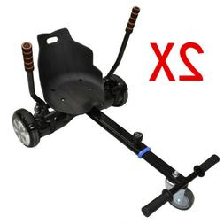 """2x Attachment Kart Go Kart Seat Holder for 6.5"""" 8"""" 10"""" Two w"""