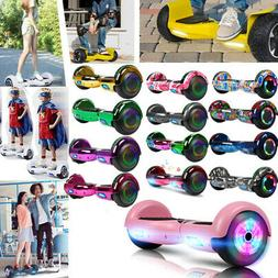 """6.5"""" Bluetooth Electric Hooverboard Balancing LED Scooter"""