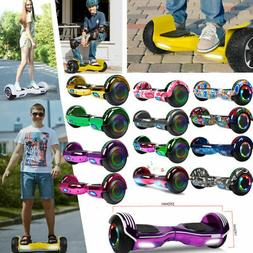 """6.5"""" Bluetooth Electric Hoverboard Self Balancing LED Scoo"""
