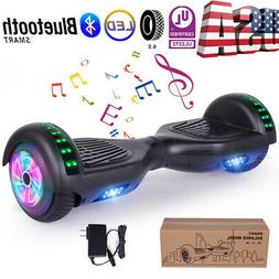 """6.5"""" Bluetooth Hoover Board Electric Balancing Scooter Black"""