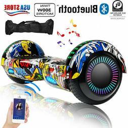 "6.5"" Bluetooth Hoverboard for Kids UL2272 Self Balancing Ele"