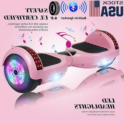 """6.5"""" Bluetooth Hoverboards Razor Scooter Electric Self-Bal"""