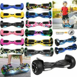 """6.5"""" Bluetooth Hoverboard Self Balance Electric Scooter LED"""