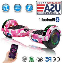 """6.5"""" Bluetooth Hoverboards Razor Scooter Electric Self-Balan"""