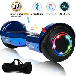 6.5'' Bluetooth Music LED Hoverboard Self Balancing Scooter