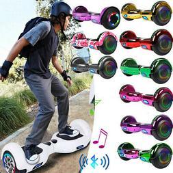 "Scooter 6.5"" Self-Balancing Hoverboard Bluetooth Speaker LED"