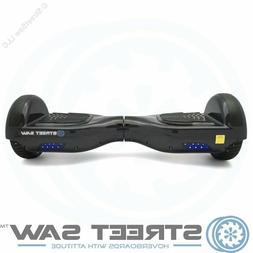 "6.5"" StreetSaw DailySaw Hoverboard UL Safe Scooter Solid Blu"