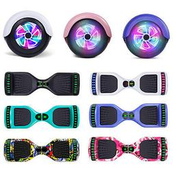 """6.5"""" Electric Hoverboard LED Self Balancing Scooter With Blu"""