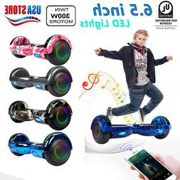 """6.5"""" Electric Hoverboard Smart Self Balancing Scooter w/ LED"""