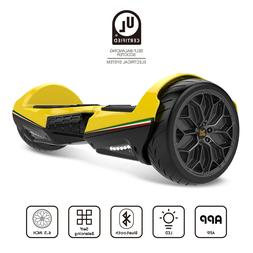 """TWO DOTS 6.5"""" Electric Scooter w/ Bluetooth Speaker & LED Li"""