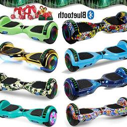 6.5 Hoover board Bluetooth LED Self Balancing Scooter UL Wit