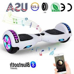 "LED Bluetooth 2 Wheels Hoverboard 6.5"" Electric Self Balanci"