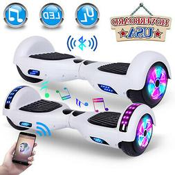 """6.5"""" Hoverboard Electric Self Balancing Bluetooth Scooter UL"""