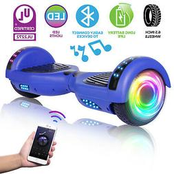6.5'' Hoverboard With bluetooth Led Two Wheels Electric Scoo