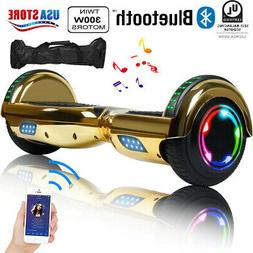 """6.5"""" 2-Wheel Hoverboard Gold Electric Scooter Hover boards U"""