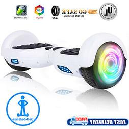 """6.5"""" Kids Hoverboard Electric Self Balancing Scooter LED Sid"""
