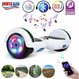 6.5'' LED Classic White Hoverboard Self Balancing Electric S