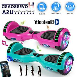 """6.5"""" LED Hoverboard Electric Self Balancing Bluetooth Scoote"""