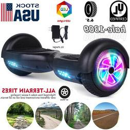 """6.5"""" LED Hoverboard Smart Wheel Electric Self Balancing Scoo"""