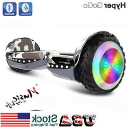 """Hyper Gogo 6.5"""" Off Road Electric Self Balancing LED Scooter"""
