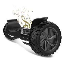 """City Cruiser 8.5"""" Electric Scooter All Terrain Tires Bluetoo"""