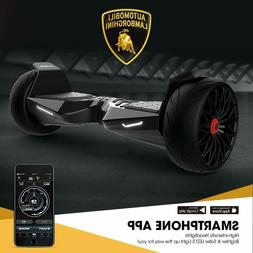 "LAMBORGHINI 8.5"" Hooverboard Bluetooth app enabled motorized"