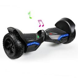 8.5'' Hummer Hoverboard Self Balance Scooter W/ Bluetooth Fo