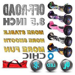 8.5 Inch Wheel All Terrain Self Balancing Hoverboard Scooter