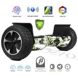 "8.5"" Off Road Bluetooth Electric  Smart Self Balancing Scoot"