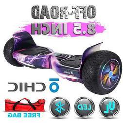 "Bluetooth OFF-Road 8.5"" Galaxy Hoverboard Self balancing Sco"