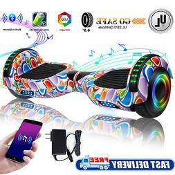 """All Terrain 6.5"""" Hoverboard Bluetooth Electric Self Balance"""