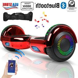 UL Bluetooth Hoverboard Hoverheart Balancing Scooter Light L