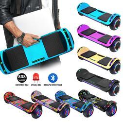 Flat Design Hoverboard Electric Self Balancing Scooter Speak