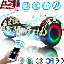 Hoverboard Bluetooth LED Self Balancing Electric Scooter no