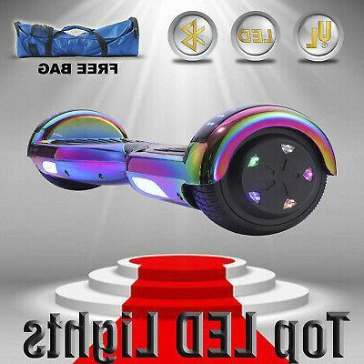 "6.5"" Self Balancing Scooter Bluetooth UL"