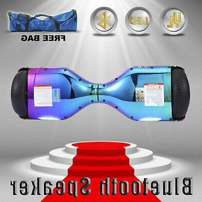 "6.5"" Self Balancing Scooter Bluetooth UL 2272+bag"