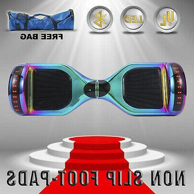 "6.5"" Balancing Scooter Rainbow Bluetooth UL 2272+bag"
