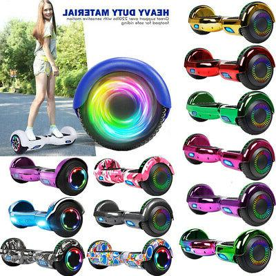 6.5/8.5'' Bluetooth Hoverboard Swagtron Hoverheart LED Scoot