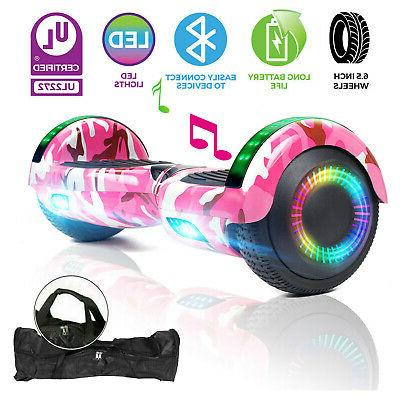 6 5 all terrain hoverboard bluetooth electric