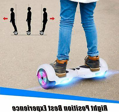 """6.5"""" Self Balancing Scooter LED Sidelights no White"""