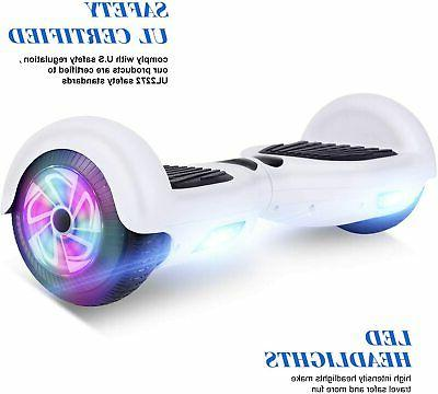 "6.5"" Hoverboard UL Self Sidelights no bag"