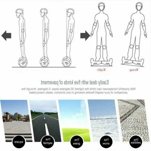 """6.5"""" Self LED Scooter Board Gifts"""