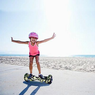 """6.5"""" Bluetooth Hoverboard LED Self Balance Hoover Board"""