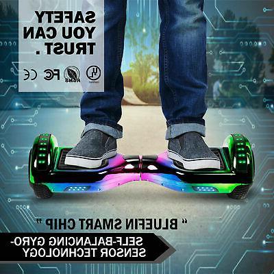 6.5'' Self Balancing Scooter Kids Two-Wheel UL