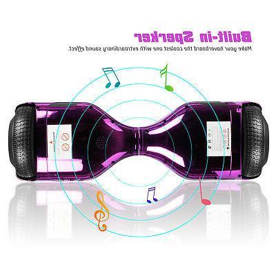 E Hoverboard Flash LED Smart purple