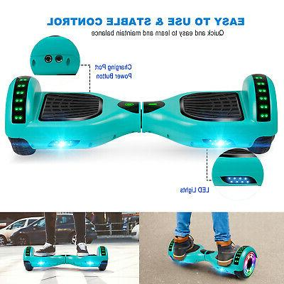 """6.5"""" Hoverboard Electric Balancing Bluetooth Scooter UL2272 Bag"""