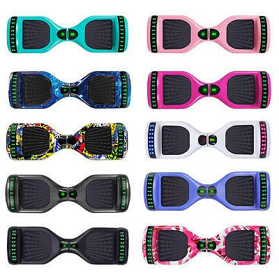 6 5 hoverboard electric self balancing bluetooth