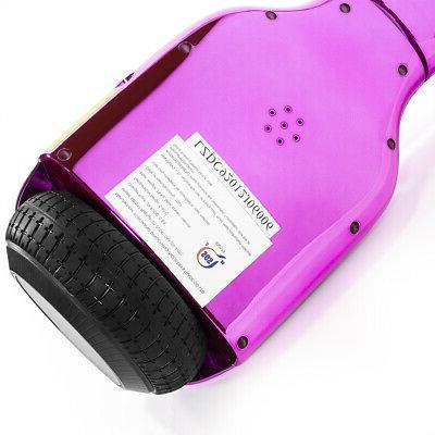 "6.5"" Hoverboard SGS Bluetooth Speaker Pink"