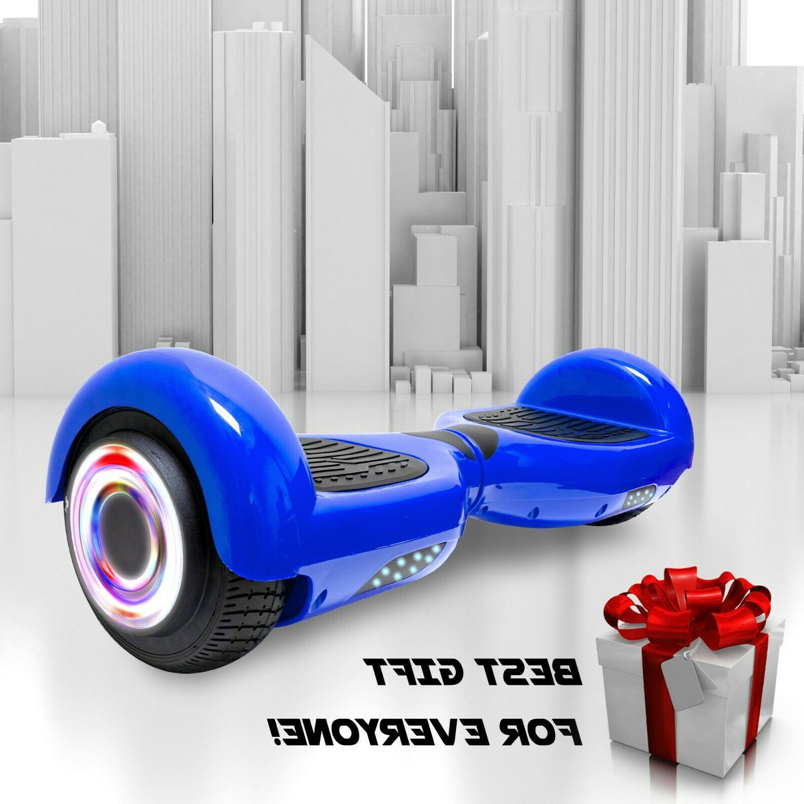 NHT Two Wheels Hoverboard LED Self Balancing Design